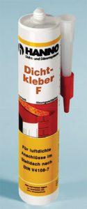 Folienkleber, Hanno Dichtkleber F zum Kleb3en von Folienbändern - www.dichtband24.de